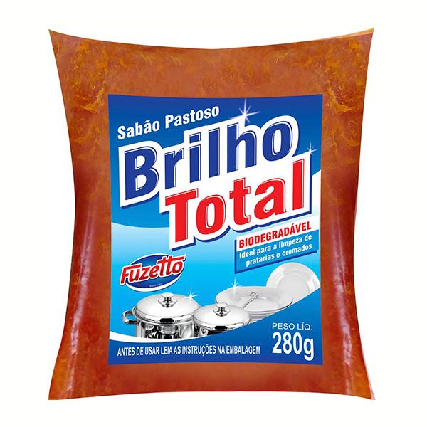 Sabão em Pasta Sachê -Brilho Total - Fuzetto - 280g