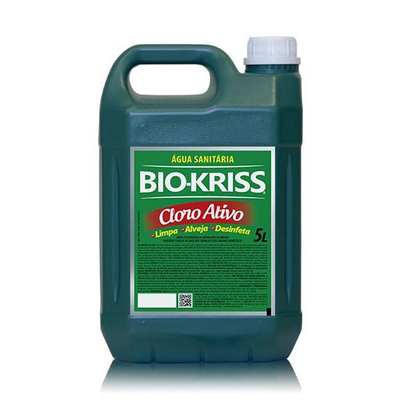 Água Sanitária - Bio-Kriss - 5 Litros
