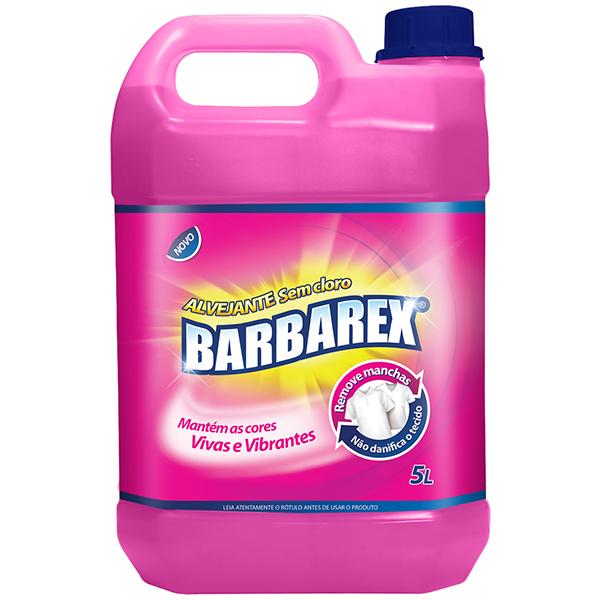 Alvejante sem Cloro - Barbarex - 5 Litros