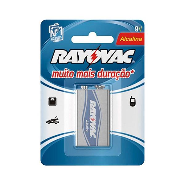 Bateria Alcalina - Rayovac - 9V
