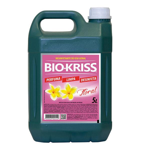 Desinfetante Floral - Bio-Kriss - 5 Litros