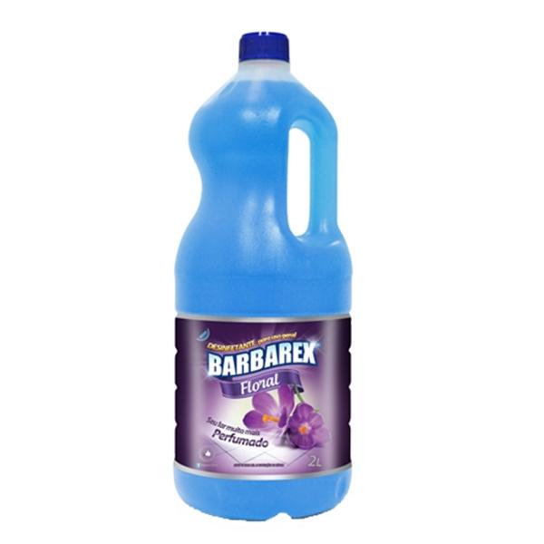 Desinfetante Floral - Barbarex - 2 Litros