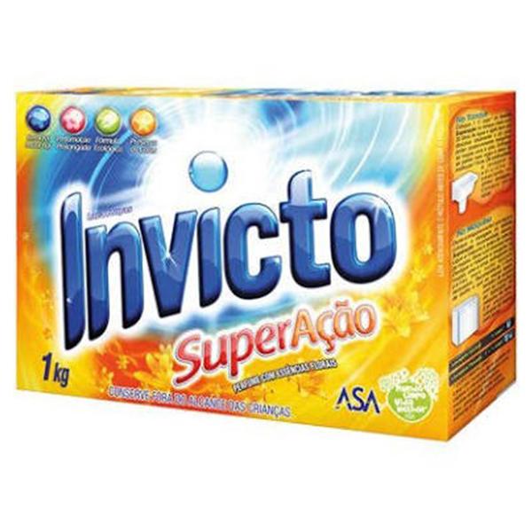 Lava Roupas em Pó - Invicto - 1 kg