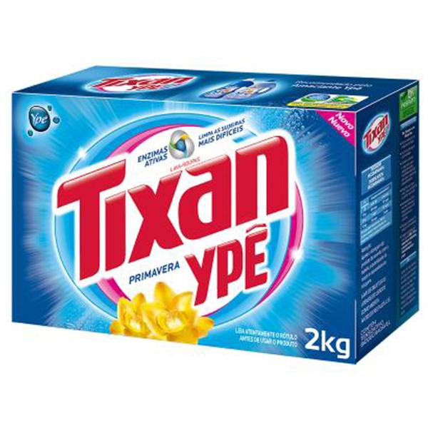 Lava Roupas em Pó - Tixan - 2 kg