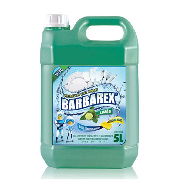 Detergente Limão - Barbarex - 5 Litros