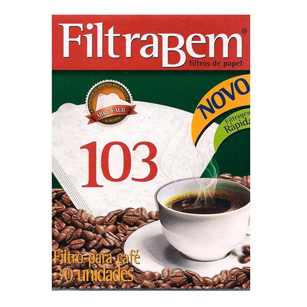 Filtro para Café 103 - Filtrabem - 30 und