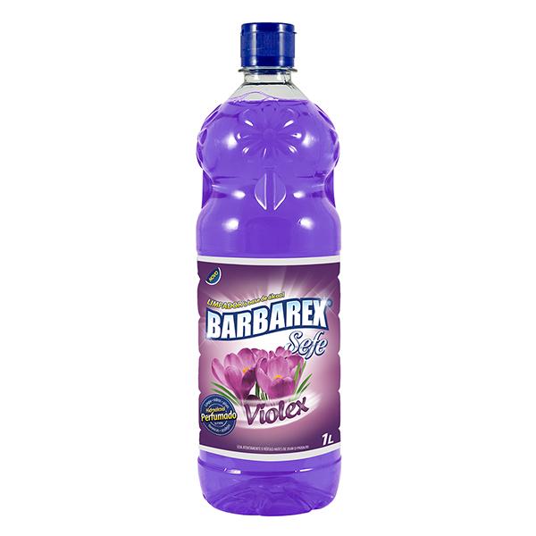 Limpador c/ Álcool Violex - Barbarex - 1 Litro