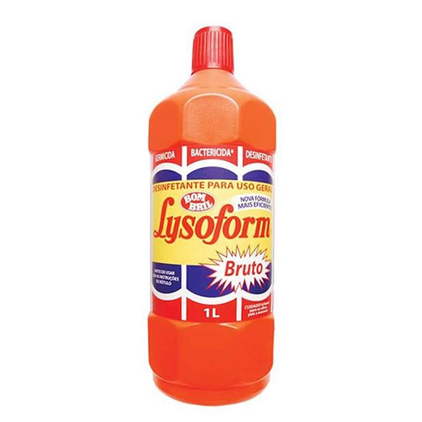 Desinfetante Lysoform - Bom Bril - 1 Litro
