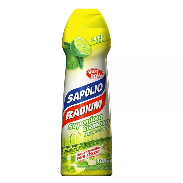 Sapolio Cremoso Limão - Radium - 300 ml
