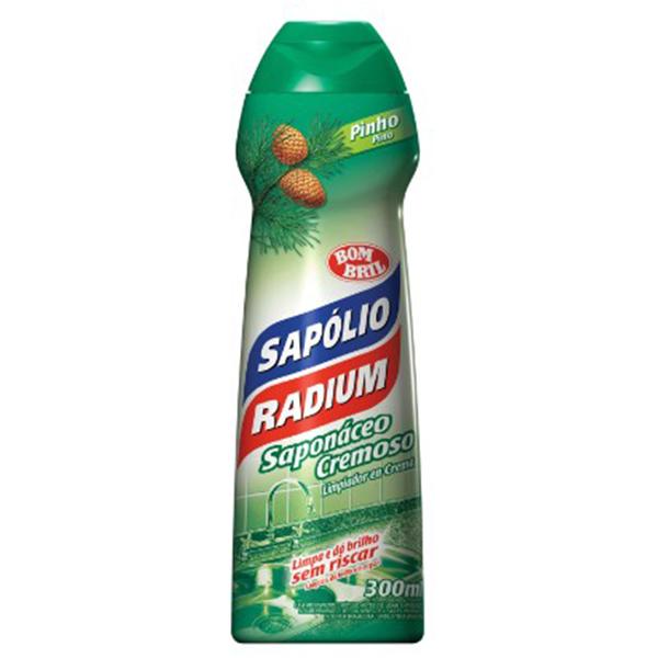 Sapolio Cremoso Pinho - Radium - 300 ml