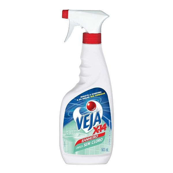 Veja X14 Banheiro - Pulverizador - 500 ml