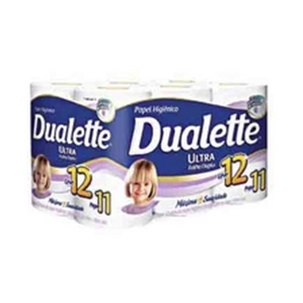 Papel Higiênico Folha Dupla - Dualette - 12x30 mts