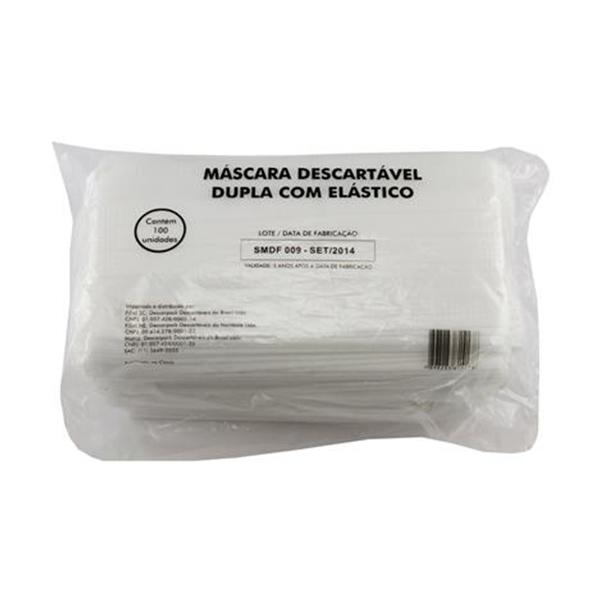 Máscara Dupla - Descarpack - 100 und