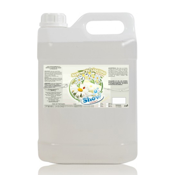 Sabonete Líquido Herbal - Show Clean - 5 Litros
