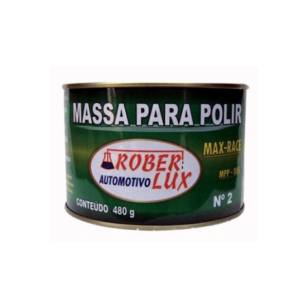 Massa para Polimento - Max Race - 480 g