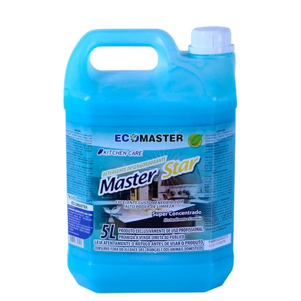 Master Star - 5lts - Detergente Super Concentrado
