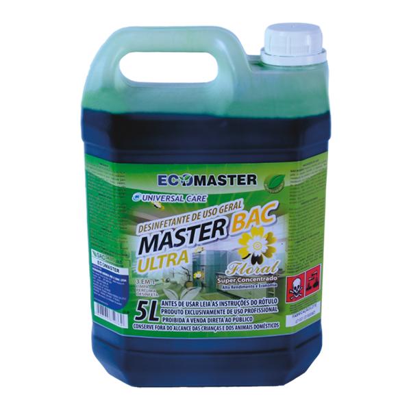 Master Bac - Floral - 5 lts - Desinfetante