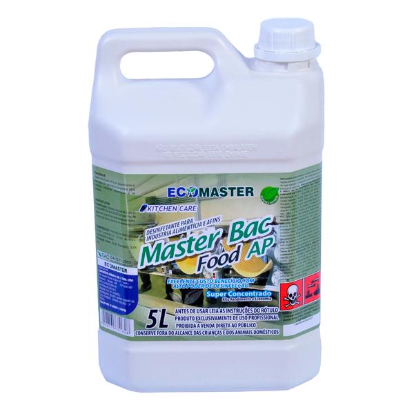 Master Bac - Food AP - 5 lts - Desinfetante