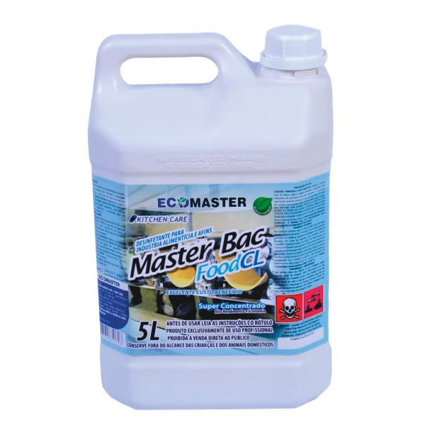Master Bac - Food CL - 5 lts - Desin. Colorado