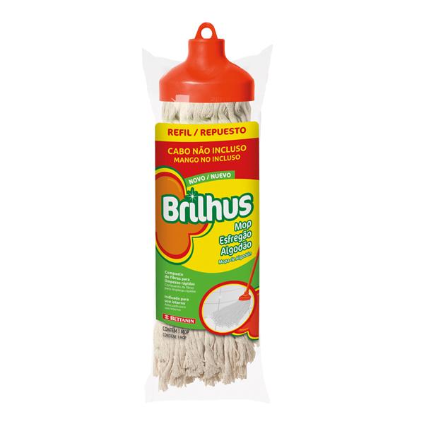 Refil para Mop Esfregão - Brilhus