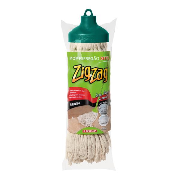Refil para Mop Zig Zag Algodão - Bettanin