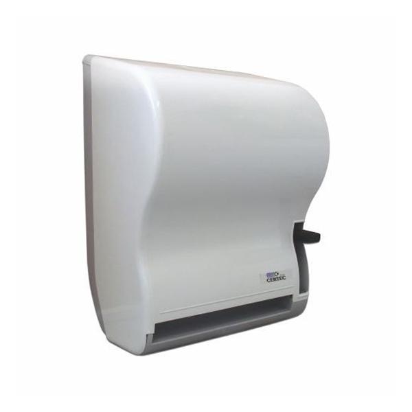 Dispenser Toalheiro com Alavanca - Certec - Branco
