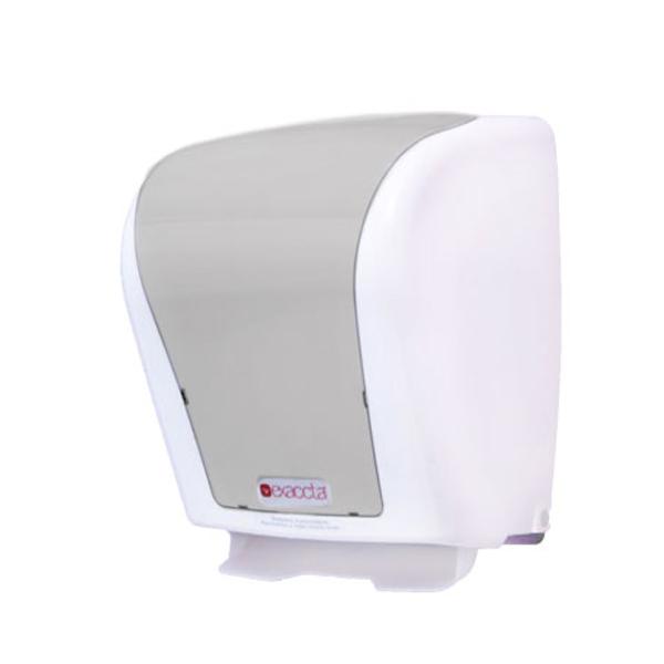 Dispenser Toalheiro Interfolhas - Exaccta - Branco c/ Transparente
