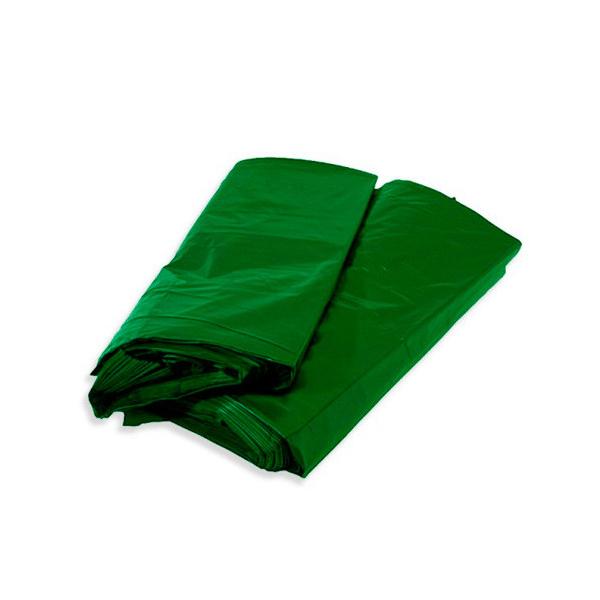 Saco lixo - 100 Lts - 100 uni - Verde - Servlimp