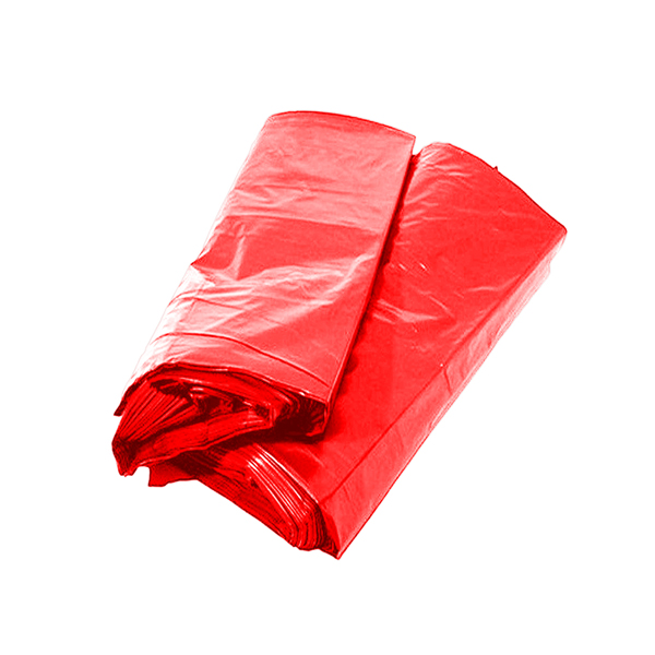 Saco lixo - 100 Lts - 100 uni - Vermelho - Servlimp